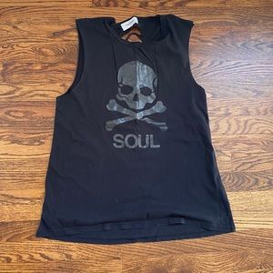 Soulcycle Slash Back Muscle Tank